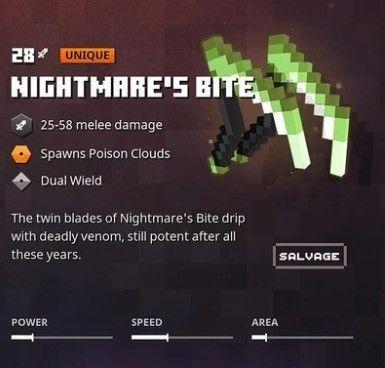 nightmare bite sickle