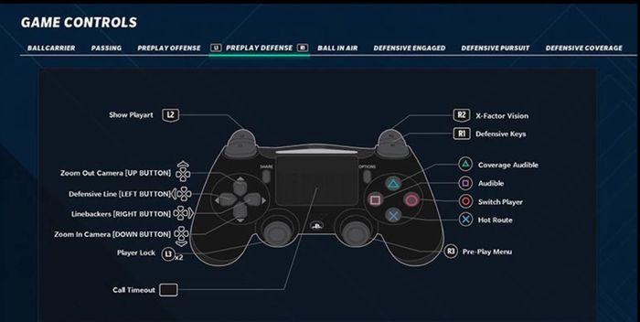 madden 21 controls preplay defense