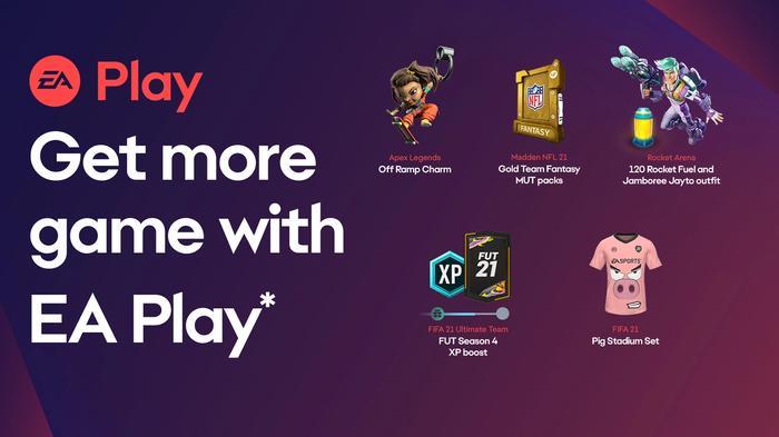 EA Play exclusive rewards