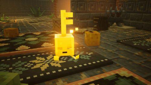 key golem minecraft dungeons