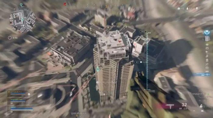 Warzone Jump Nakatomi Tower Survive