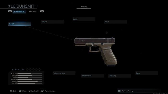 X16 in Call of Duty Modern Warfare