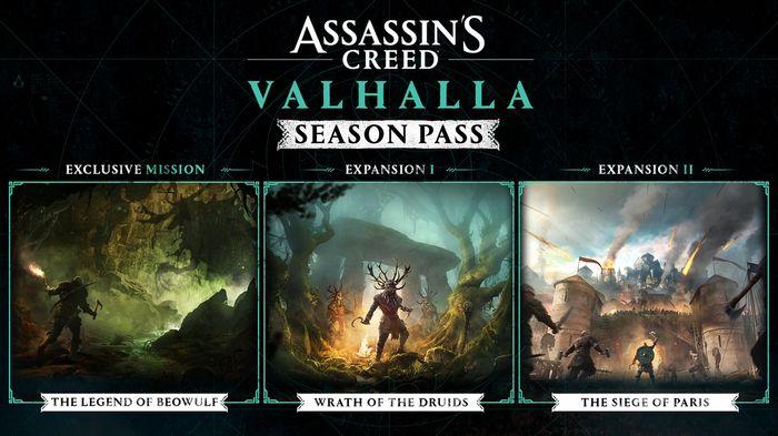 Assassin's Creed Valhalla Wrath of the Druids DLC Season Pass