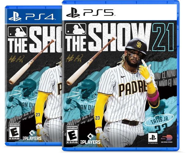 mlb the show 21 cover ps4 ps5