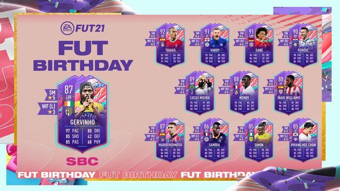 FUT Birthday SBC Gervinho FIFA 21 Ultimate Team