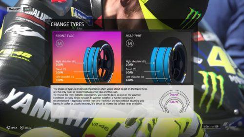 MotoGP™20 Tyre setup Germany
