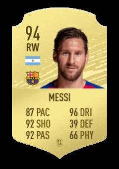 Messi Basic 1