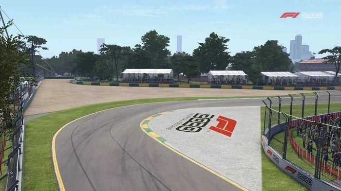 f1 2020 Australia turn 3 Y
