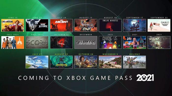 E3 2021 Day Two Xbox Games Showcase Game Pass
