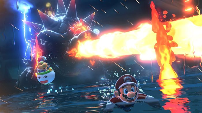 Super Mario 3D World Giant Bowser