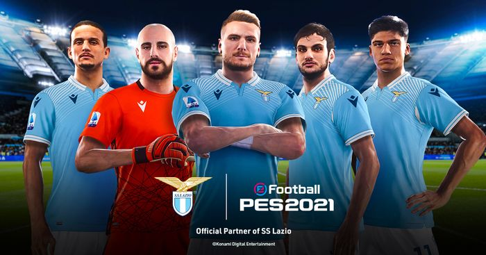 GAME TIME! Check out the Lazio stars ready to take PES by storm