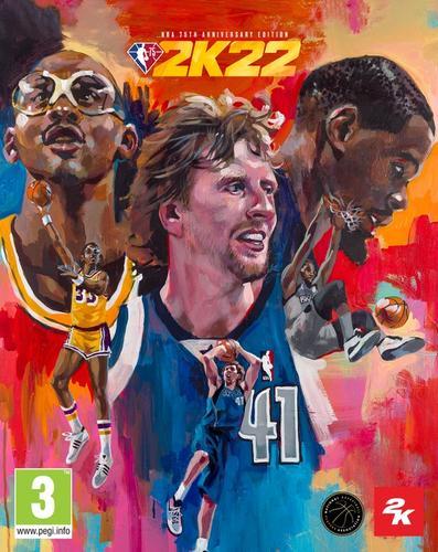NBA 2K22 pre order 75th anniversary edition