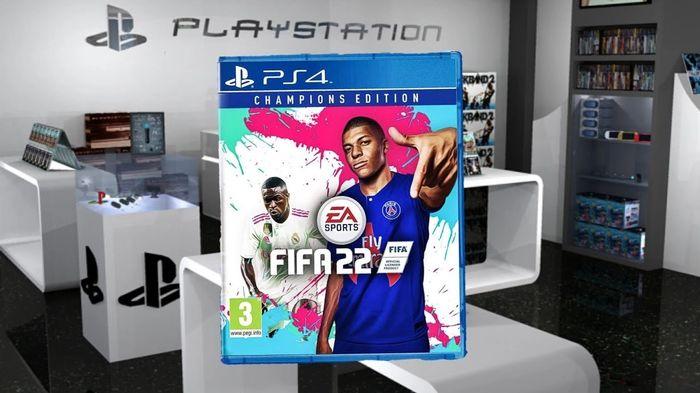 FIFA 22 cover concept design