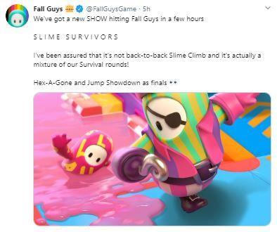 fall guys slime survivors
