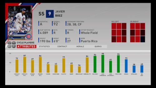 MLB The Show 20 Javier Baez Diamond Dynasty Shortstop RTTS Franchise Mode