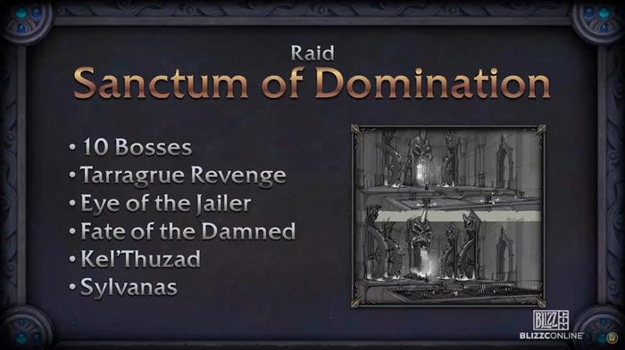 BlizzCon 2021 Sanctum of Domination Presentation