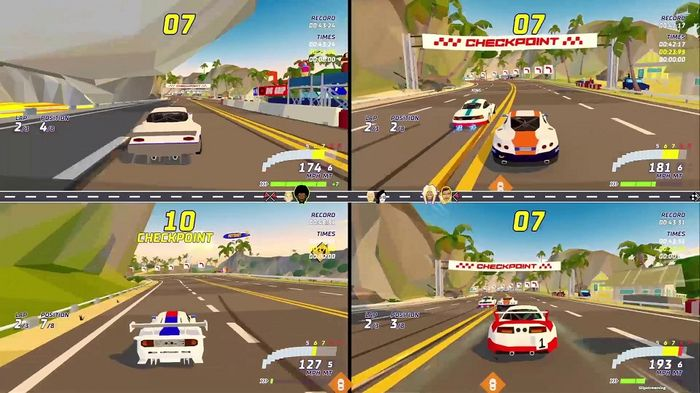 Hotshot racing 4 player offline lobby min