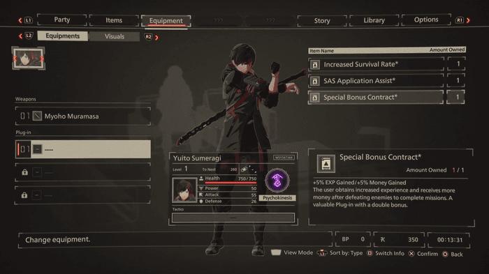 Scarlet Nexus Yuito