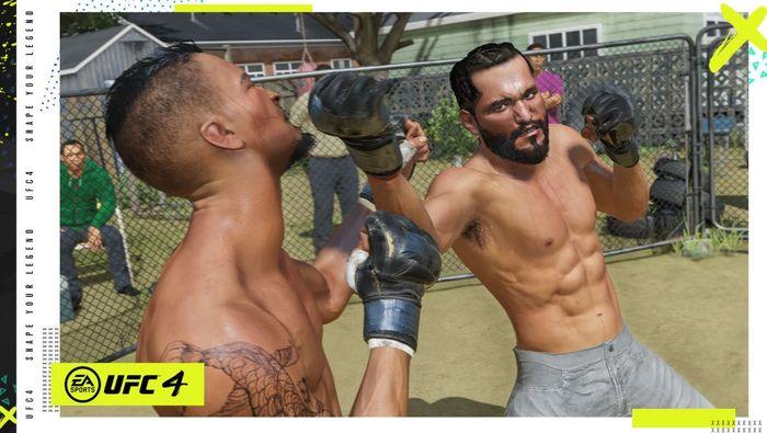 ufc 4 gameplay striking 1