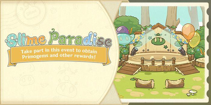 Slime Paradise Event banner