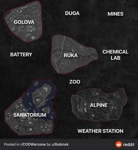 Warzone Season 3 Map Leak