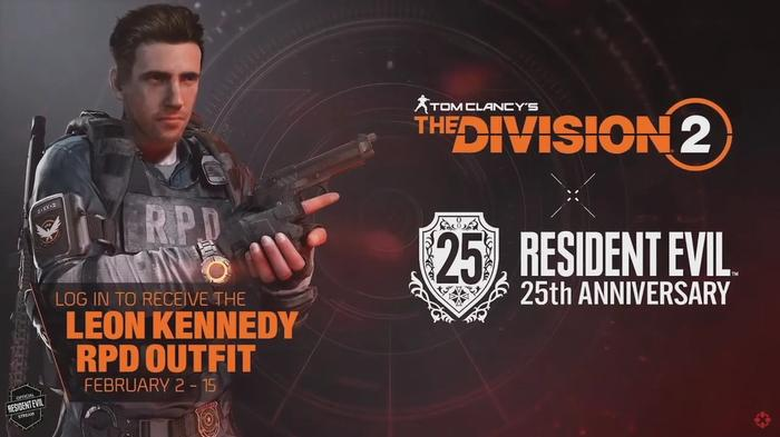 Resident Evil The Division 2 Collab Leon Outfit