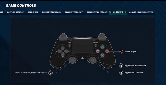 madden 21 controls blocking