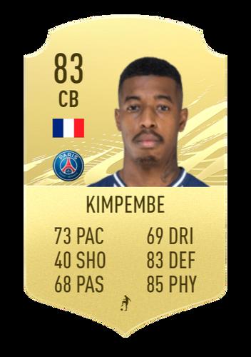 kimpembe fifa 22