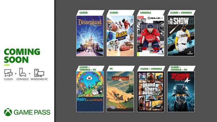 Xbox Game Pass April 2021 Coming Soon