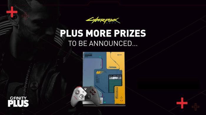 gfinity plus cyberpunk 2077 giveaway
