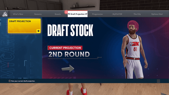 nba 2k22 draft