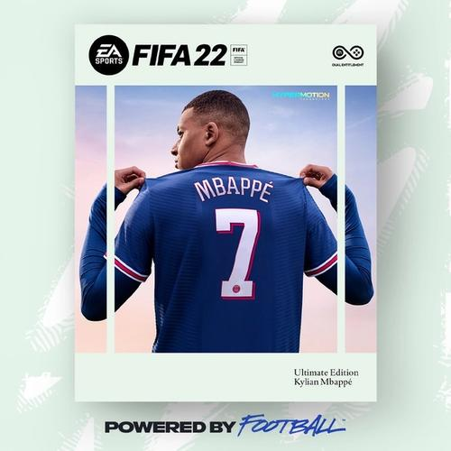 fifa 22 cover star mbappe