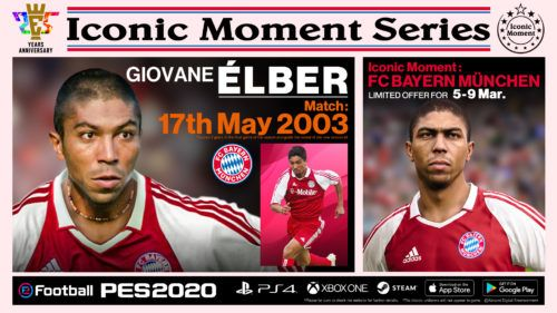 PES 2020 IconicMoment FCB ELBER