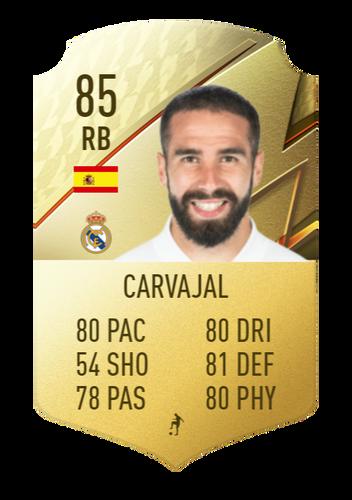 FIFA 22 Carvajal