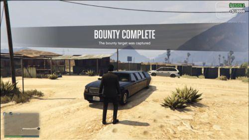GTA V Online Stone Hatchet Bounty complete