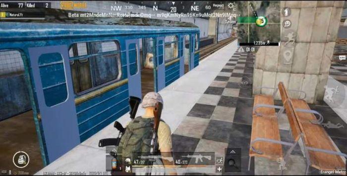 PUBG Mobile Metro Royale Map