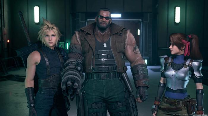 Final Fantasy VII 7 Remake Part 2 Cloud Barrett