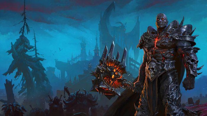 WoW Shadowlands Lich King Tyrian