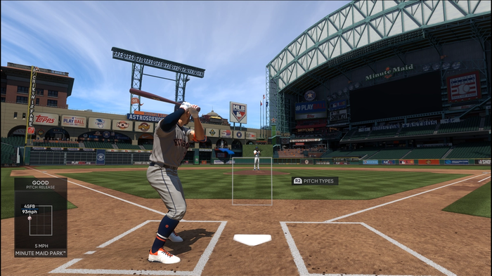 MLB The Show 21 Check Swing