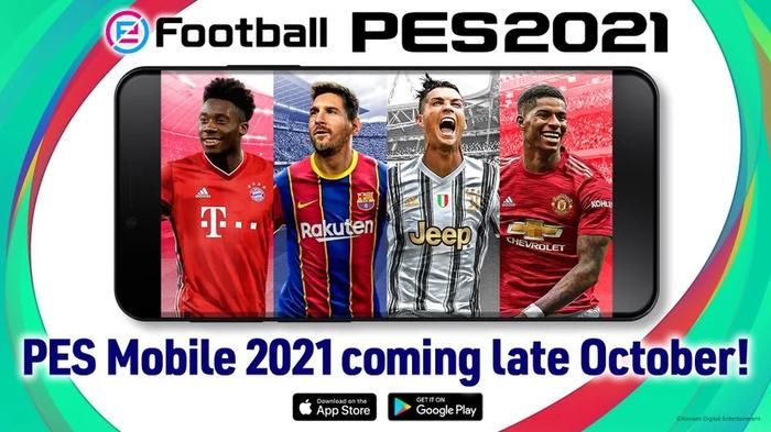 pes 2021 mobile cover