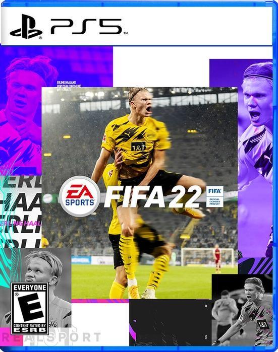 fifa 22 cover star concept haaland