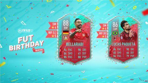 bellarabi paqueta objectives fut birthdat fifa 20
