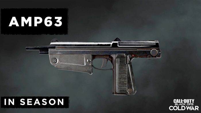 Black Ops Cold War Season 3 new Weapons AMP63 Pistol