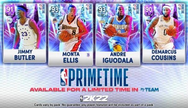 NBA 2K22 MyTEAM Primetime Packs