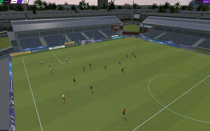 KEEP IT REAL - FM22 Switch will feature an improved 3D matchday engine