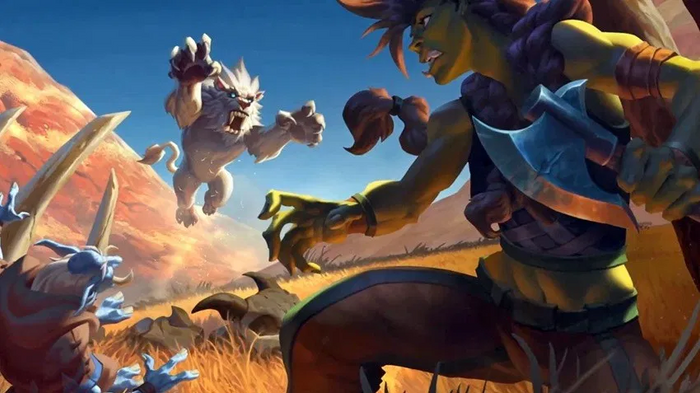Hearthstone Forged in the barrens cinematic trailer