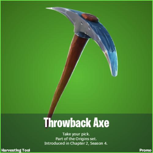Throwback Axe Fortnite