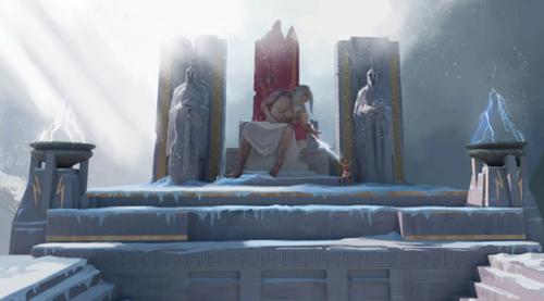 Gods Monsters Zeus on Olympus