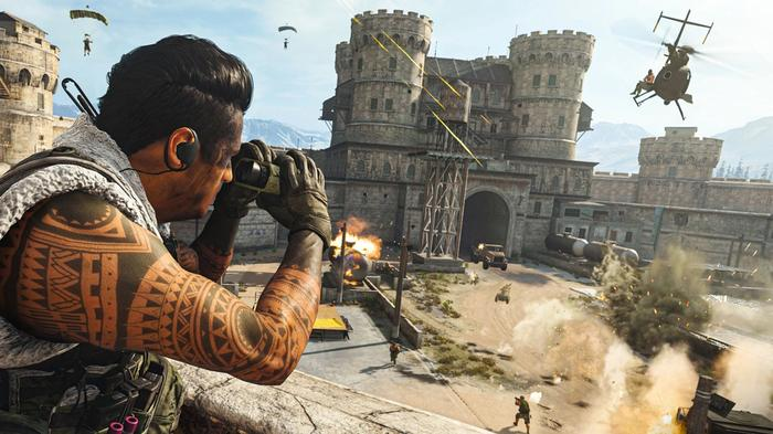 Call of Duty Warzone Best Places to land Prison