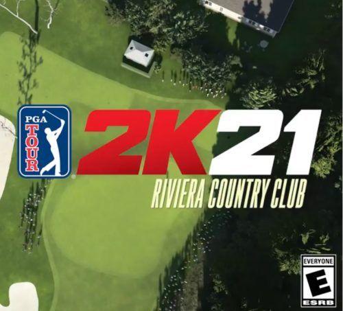 PGA Tour 2K21 Riviera Country club 1
